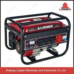 Portable 220v Gasoline Generator Japan Portable 6.5Hp 2.5Kw 168F-1 Engine Generators Price LB2600DXE-D3