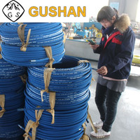 Many size 1 inch Steel Wire Spiral SAE J517 100 high pressure rubber hydraulic hose