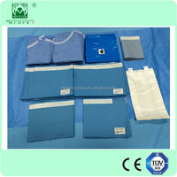 China Gold Supplier Disposable universal Surgical drape pack/set for general surgery