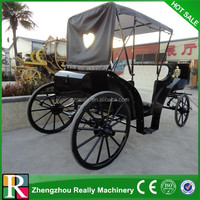 2-wheel Horse cart/sulky horse carriage made in China