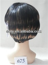 Wholesale woman hair wig attractive design high quality kids synthetic hair wigs