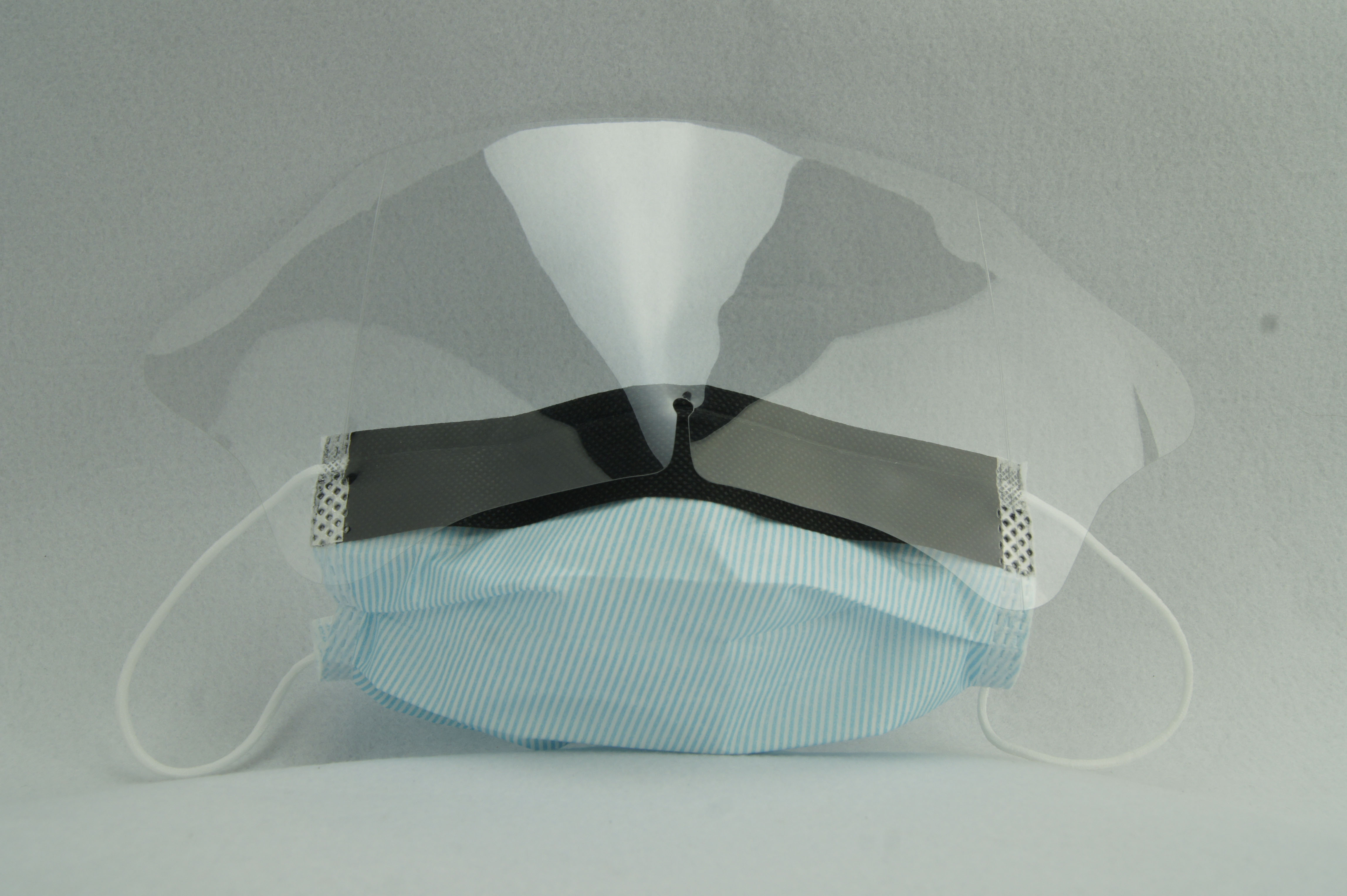 3 Ply Disposable Face Mask With Visor Eye Shield anti-virus anti-bacterial anti flu avoid cross-infection