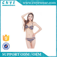 CNYE 2016 OEM Hot Sex Image Muslim Contest Women Sexy Bikini Swimwear