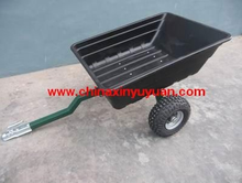 High quality atv wood trailer