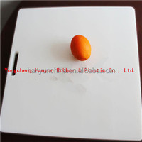 High quality pe plastic index chopping board/cutting board