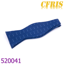 High Quality Cottom Fabric Self Bow Tie,With Pocket Square And Tie Set