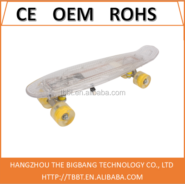 Best selling cruiser boards lighting usb fish board undefined fish skateboard sale