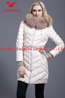 Hot sale 2013 shiny winter fashion women branded surplus clothes 12033