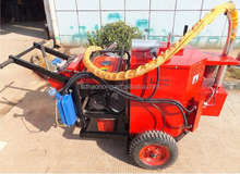 rock crack asphalt filling machine