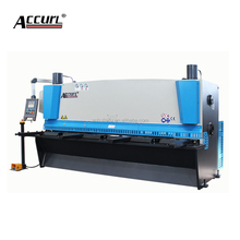 Small-scale guillotine shear QC12Y-4X3200 Hydraulic Shearing Machine Export to Asia