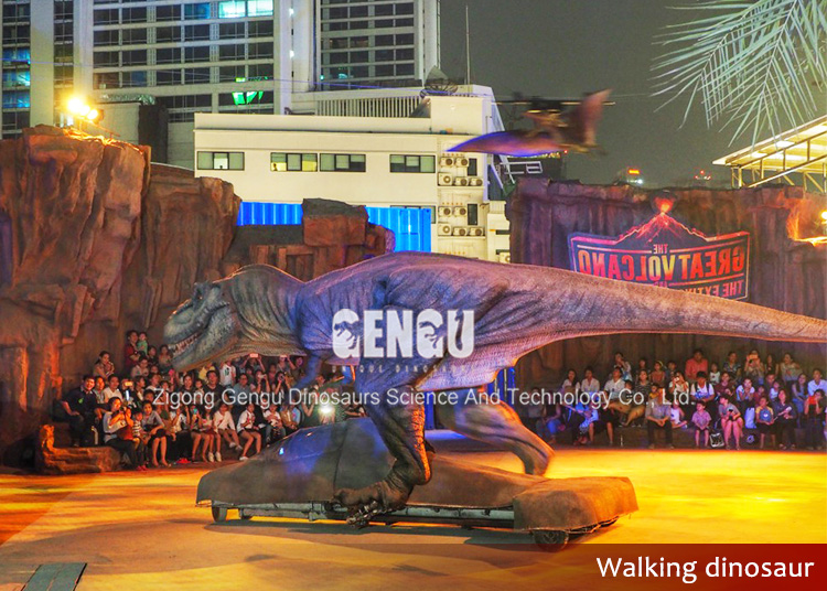 Stage Show High Simulation Alive Walking Dinosaur