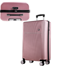 2017 traveling bags cabin size ABS hotel luggage trolley in south africa