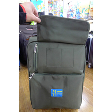 Pull rod box men and women hand suitcase soft cloth luggage travel bags