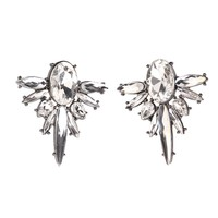 brand fashion jewelry wholesale Ladies unique crystal stone charm stud Earrings 71916