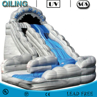 2015 hot-selling Tornado Water Park Slide inflatable water park slides for sale