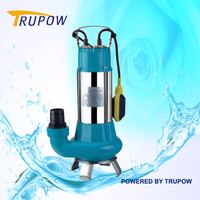 Non-clog Sewage Submersible Pump With 1100W And 330L/min