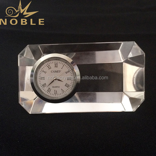 New Deisgn Crystal Clocks Paperweight