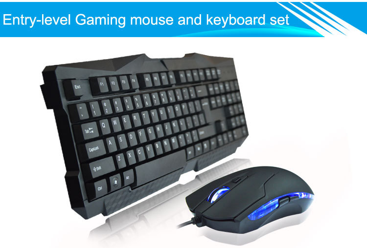 VMT-07 2015 10 years ISO factory direct gaming keyboard and mouse from trade assurance supplier