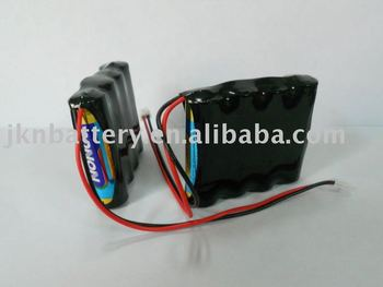 6V LR6 alkaline battery pack