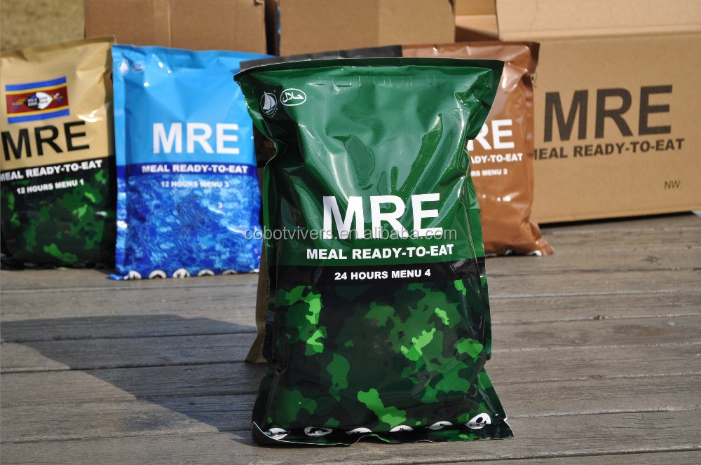 MRE wholesale for three meals a day