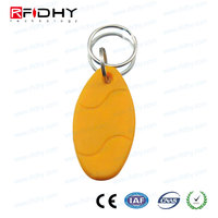 Electronic access control purse hanging key chain for security