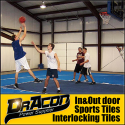 Indoor and Outdoor Basketball Court Flooring Material