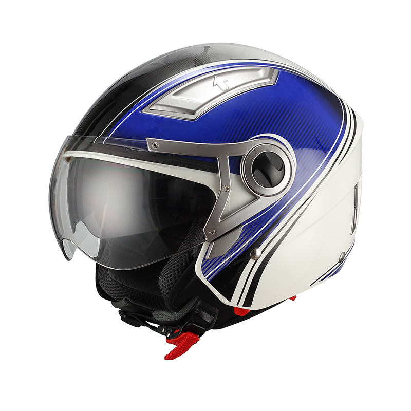 2015 New Factory sale Quality certificate helmet motorcycle AS1698 helmets open face helm JX-OP01