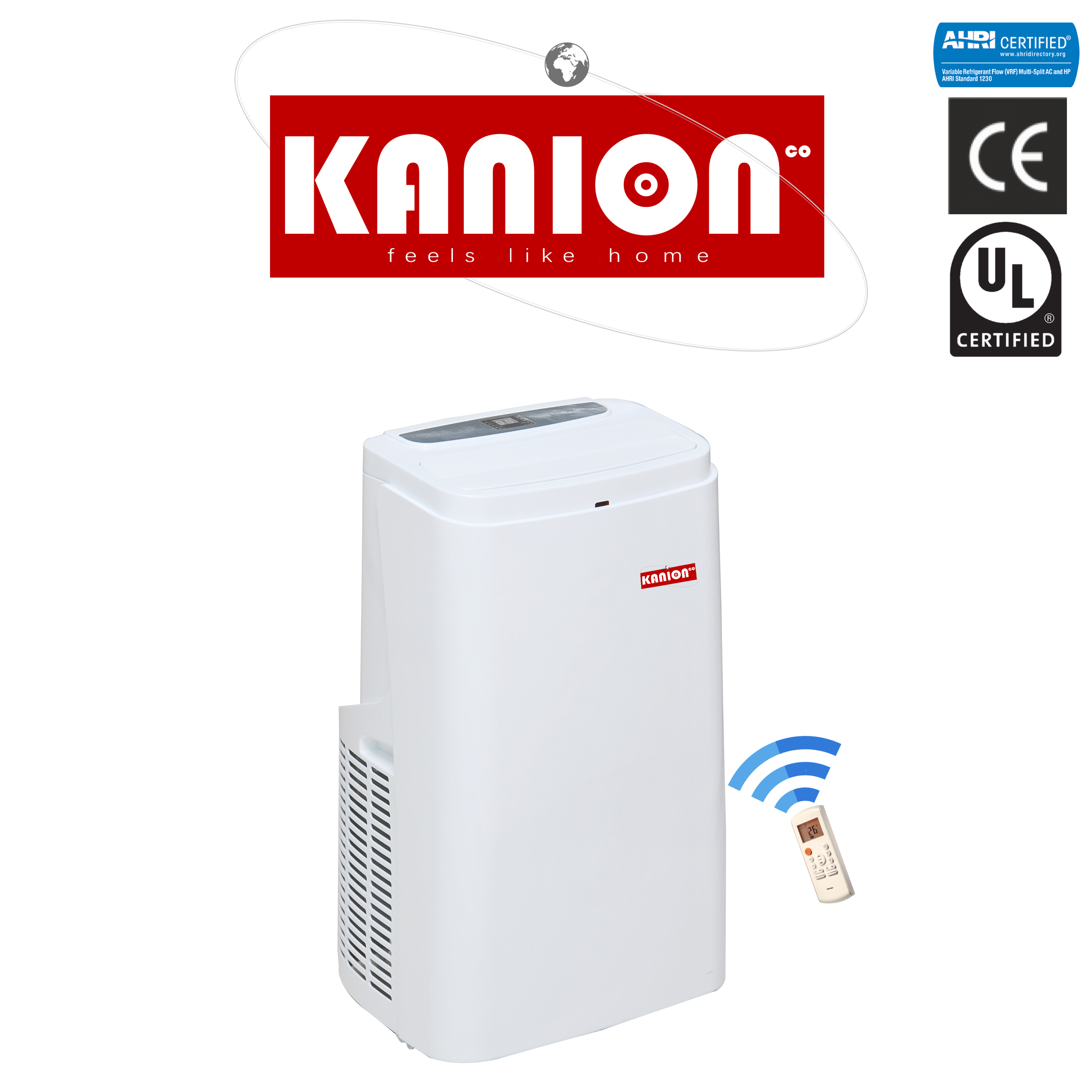 Kanion movable portable air conditioner R410a Cooling and Heating portable <strong>ac</strong>
