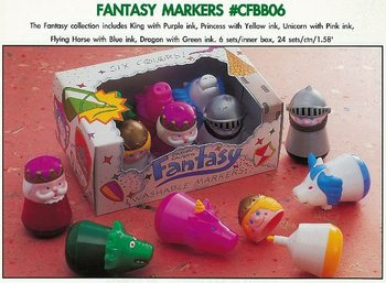 FANTASY CHARACTER WASHABLE MARKER