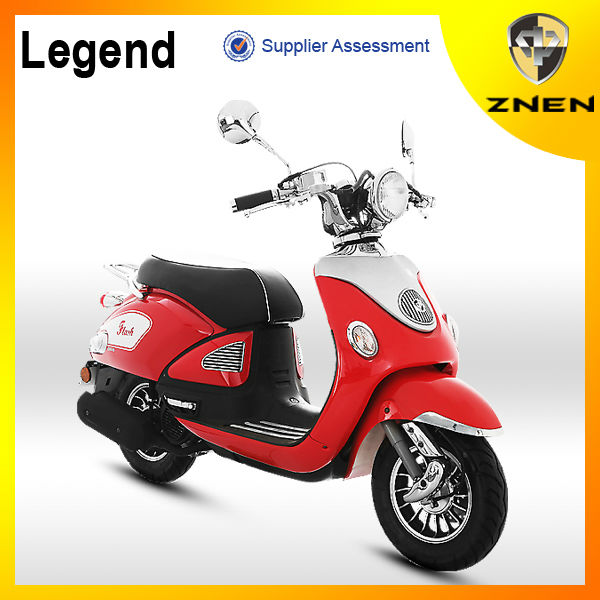 ZNEN new generation of Legend 125 CC Scooter /3000W electric vehicle with EEC /EPA/DOT Classica scooter