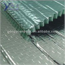 hvac duct insulation / Green XPE Foam Cushioned Silvery Foil Insulation Material