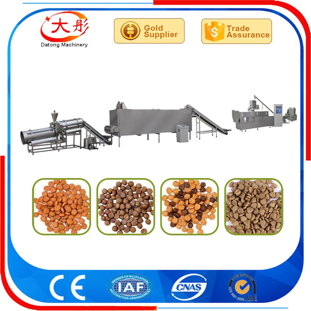Pet food machine pet feed pellet machine