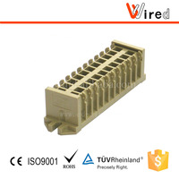 Mini and micro terminal block Wired WJX2.5