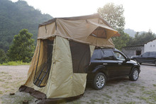 Heavy duty soft car roof top tent Car with annex for sale