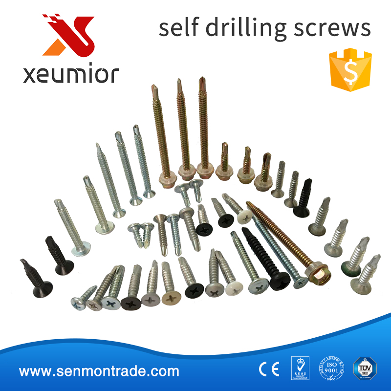 High quality wafer head self drilling screw, self-drilling screw Order Available