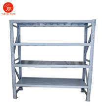 Industial Warehouse Light Duty Metal Decking Storage Shelf