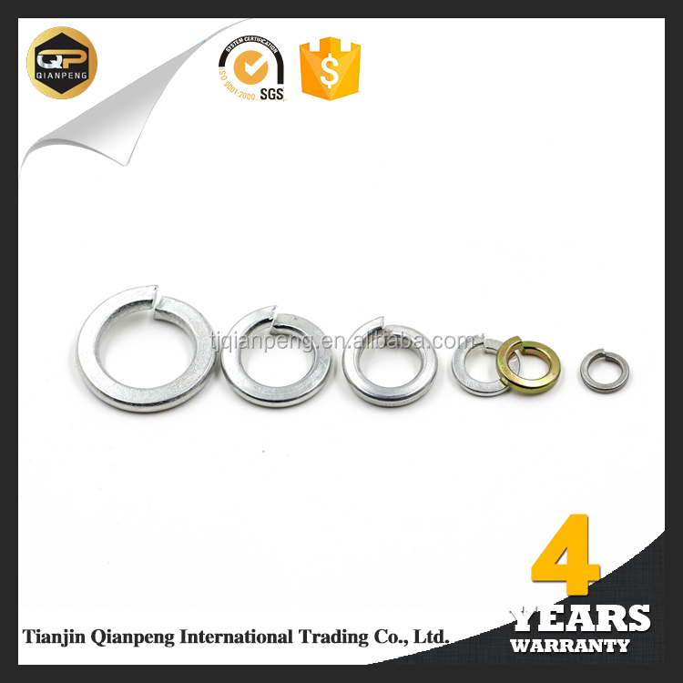 Automotive fasteners brass copper spring washer