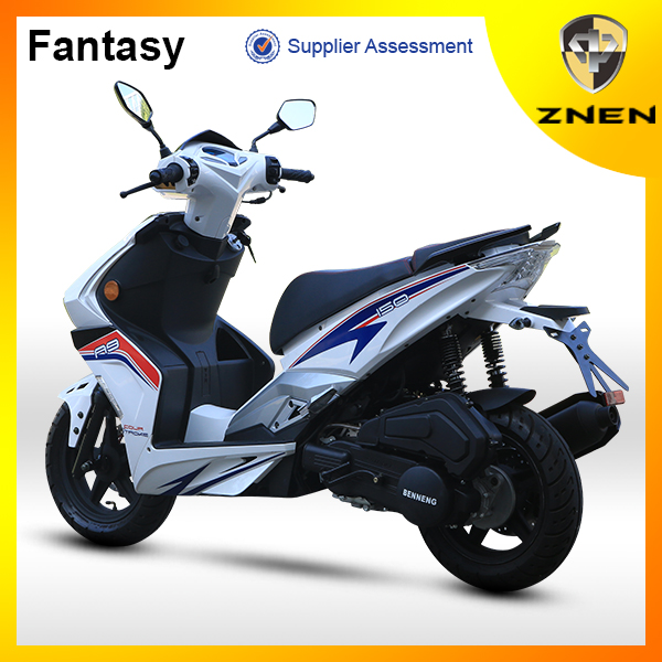 Fantasy -ZNEN new model 125CC gas scooter 50CC with EEC EURO IV Certification 150CC cheap gs scooter