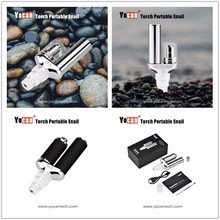 Yocan Torch Portable eNail Vaporizer Kit Wax dry herb wax Pen Quartz two Coil Herbal vapor