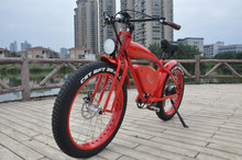 "Lohas Vehicle 26"" 750W 10Speed Snow & Beach Fat Tire Electric Bike, All Terrain Using with Pedal Assist and Throttle"