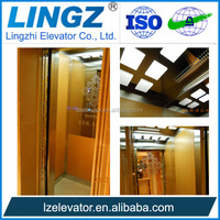 250kg small home elevator lift for 2 person