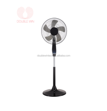 "16""Stand Fan with Remote Control Adjustable Elegance and Performance Oscillating Stand Fan"