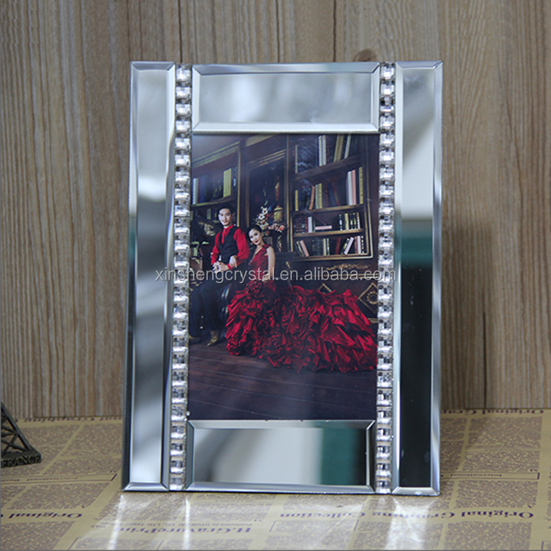 High quality gold glass picture frames