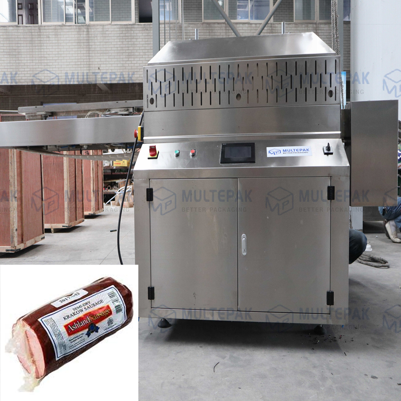 Automatic belt chamber sealers vacuum for dates meat sausage multepak