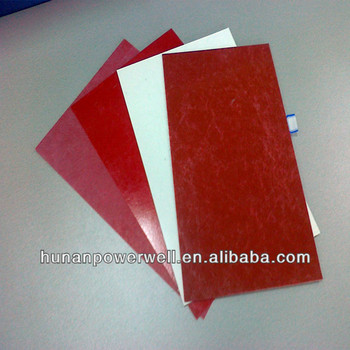 Upgm 203 polyester glass fiber mat insulation gpo3 board for Glass fiber board insulation