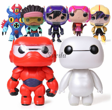 Baymax Big Hero 6 FUNKO POP actio figure Baymax POP Vinyl 6inch PVC Action Figure