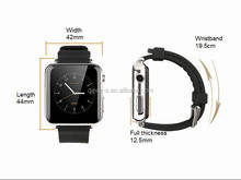 Competitive MTK WATCH GSM Touch Screen Smart Watch Phone OEM with 4 colors and pure touch cap screen for All Android Phones