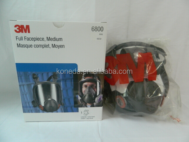 3m full face gas mask 3M 6800 3m industrial face mask full face anti-gas mask with 3M double cartridge filter for protection
