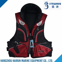 High quality widely use popular EPE foamed polyethylene fishing vest