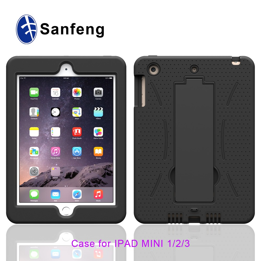 Shockproof Robot Stand Case Plastic Tablet Cover For Ipad Mini 12 3